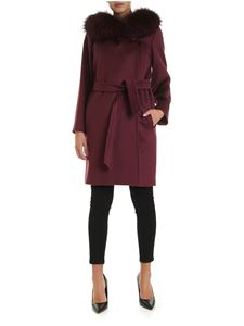 Max Mara - 3Mango coat in wine color