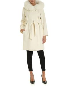 Max Mara - Mango coat in white