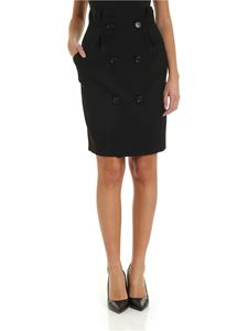 Max Mara - Fenice skirt in black