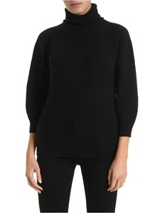 Max Mara - Etrusco high collar pullover in black