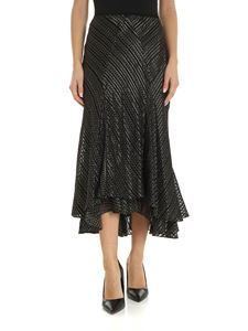 Diane von Fürstenberg - Debra skirt in black and gold