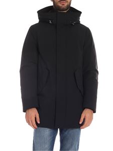 Woolrich -  Parka Stretch Mountain nero