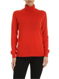 Paul Smith - Artist Stripe detail pullover in orange