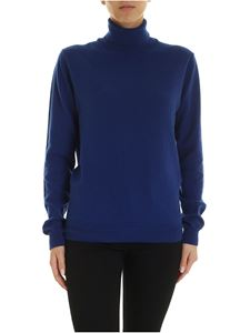 Paul Smith - Artist Stripe detail pullover in blue