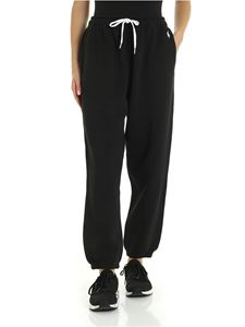 POLO Ralph Lauren - Logo embroidery pants in black