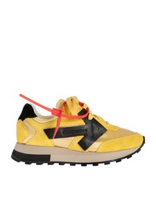 Off-White - Sneakers runner Everyday gialle e nere