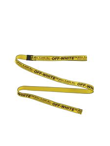 Off-White - Carryov Mini Industrial belt in yellow