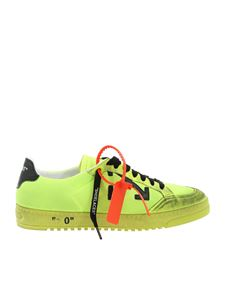 Off-White - 2.0 sneakers in neon yellow