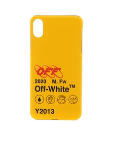 Off-White - Cover per Iphone XS Indust Y013 gialla