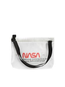 Heron Preston - Nasa messenger bag in white