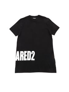 Dsquared2 - T-shirt nera stampa Dsquared2