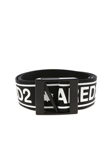 Dsquared2 - Black Dsquared2 print belt