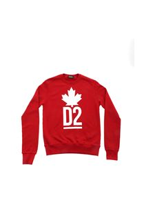 Dsquared2 - D2 sweatshirt in red