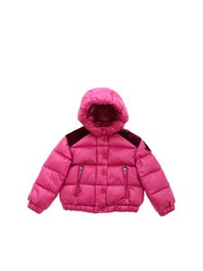 Moncler Jr - Chouette down jacket in cyclamen color