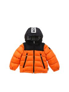 Moncler Jr - Orange Doc down jacket
