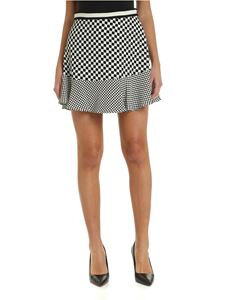 Michael Kors - Check skirt in black and white