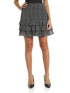 Michael Kors - Animal print skirt in grey