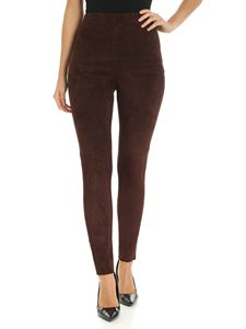 Max Mara Weekend - Leggings Eros marroni