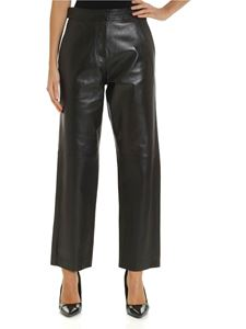 Max Mara Weekend - Goloso pants in black leather