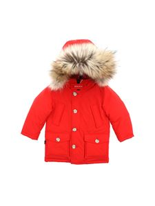 Woolrich - Arctic Parka Hc down jacket in red