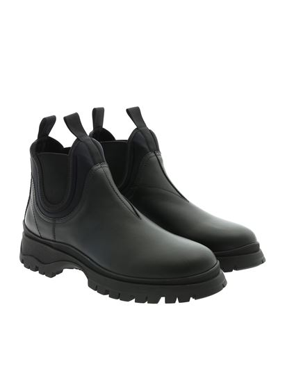 Prada - Chelsea boots with lug sole