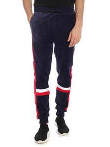 Fila - Chenille Silvano pants in blue