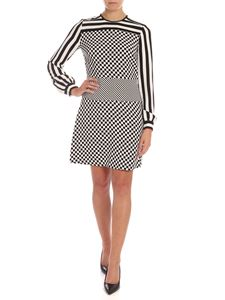 Michael Kors - Striped and square dress in black and white