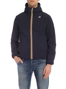 K-way - Jacques Warm Double jacket in blue