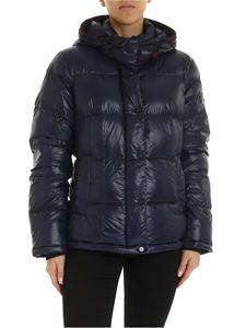 Peuterey - Bryce blue down jacket with hood