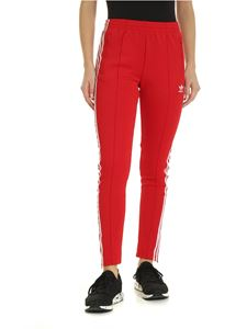 Adidas - SST pants in red