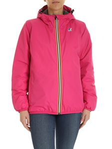 K-way - Le Vrai 3.0 Claudette Jacket in fuchsia