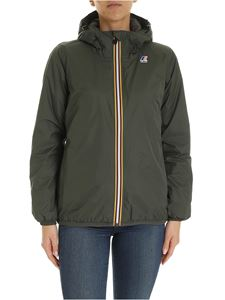 K-way - Le Vrai Jacket 3.0 Claudette in green
