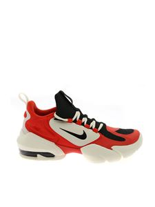 Nike - Air Max Alpha Savage sneakers in white red and black