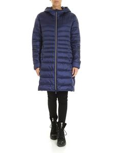 Save the duck - Quilted down jacket in blue
