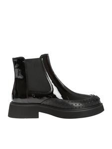Tod's - Black painted boots