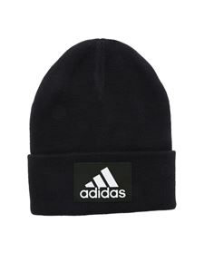 Adidas - Logo beanie in black
