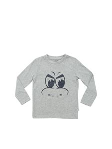 Stella McCartney Kids - Monster print t-shirt in grey