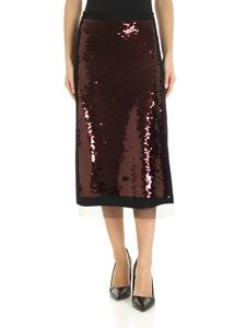 McQ Alexander Mcqueen - Maxi-sequins skirt in black