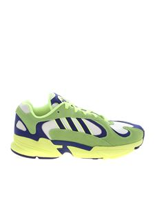 Adidas - Adidas Originals Sneakers Yung1 in yellow and blue