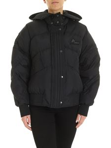 McQ Alexander Mcqueen - Oversized down jacket in black