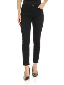 Vivienne Westwood Anglomania - High Waisted slim jeans in black