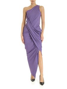 Vivienne Westwood Anglomania - Vian one-shoulder dress in lilac