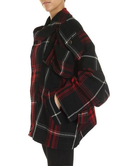 Vivienne Westwood Anglomania - Hypnos jacket in black and red
