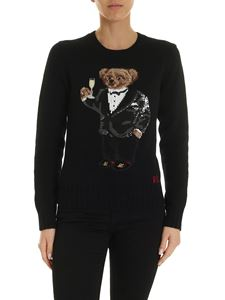 POLO Ralph Lauren - Bear and logo pullover in black