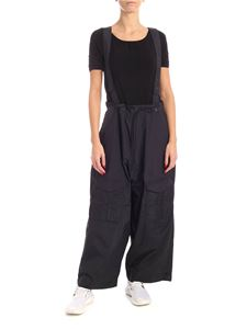 Y-3 Yohji Yamamoto - Black pants with removable straps