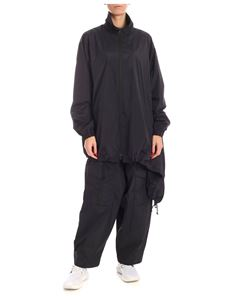 Y-3 Yohji Yamamoto - Asymmetrical bottom jacket in black