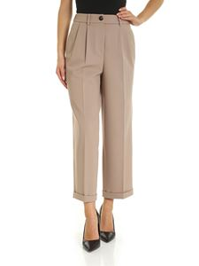 Peserico - Wide trousers in beige