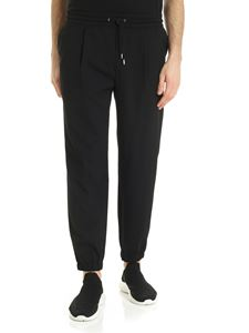 McQ Alexander Mcqueen - Pleated trousers in black