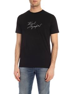 Karl Lagerfeld - Signature T-shirt in black