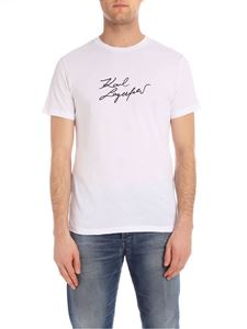 Karl Lagerfeld - Signature t-shirt in white